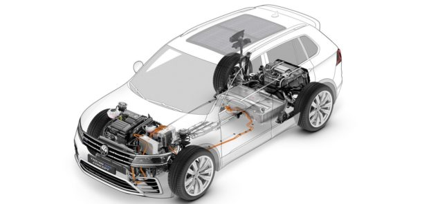 VW Tiguan 2017 Specifications