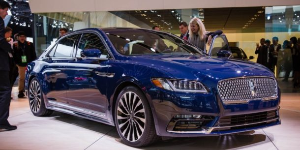Lincoln Continental 2017 дата релиза