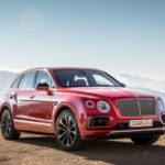 Bentley Bentayga 2017 экстерьер