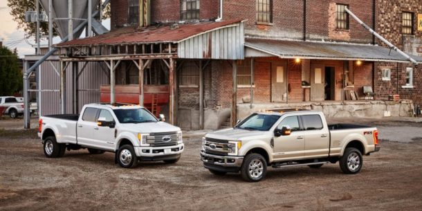 обновленный Ford Super Duty F-Series