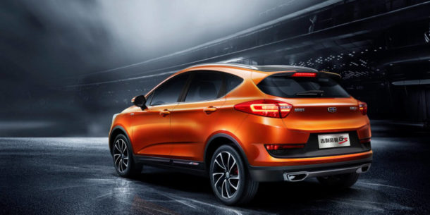 geely cross