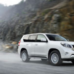 Toyota Land Cruiser Prado 2017 интерьер