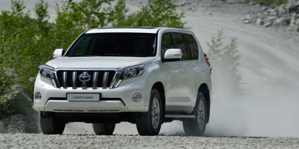Toyota Land Cruiser Prado 2017 фото
