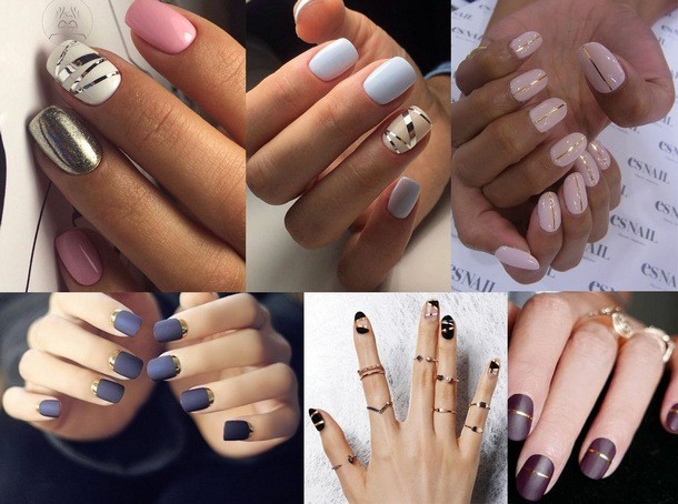 fashionable manicure colors in 2018