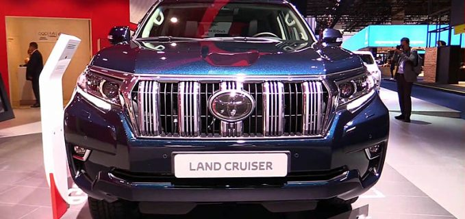 toyota land cruiser prado 2019 new