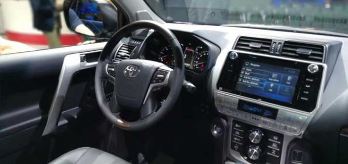 toyota land cruiser prado 2019 interior